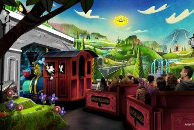 Disney Mickey and Minnie Runaway Railway Ride