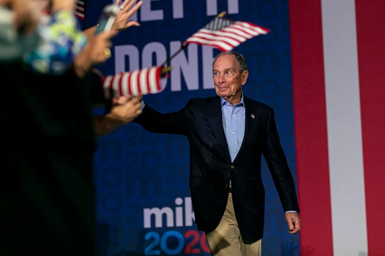 bloomberg drops out