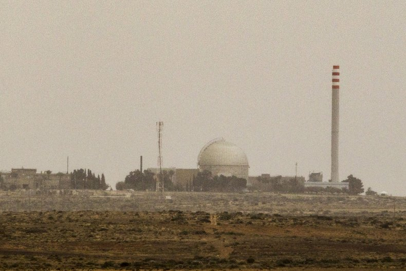 israel, nuclear, power, plant, dimona