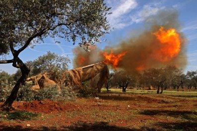 syria, rebels, idlib, attack, war, turkey