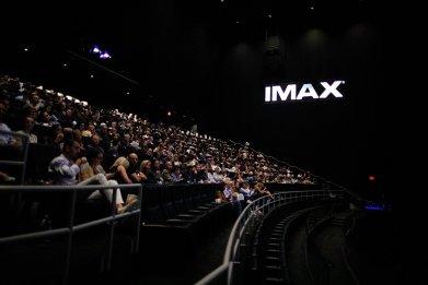 imax movie audience