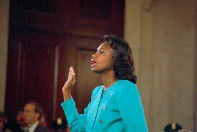 Anita Hill testifies