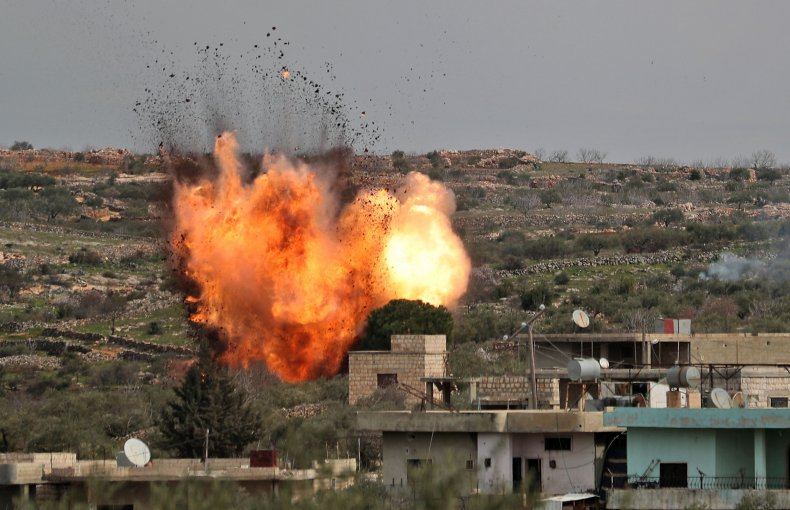 russia, airstrike, idlib, syria, war