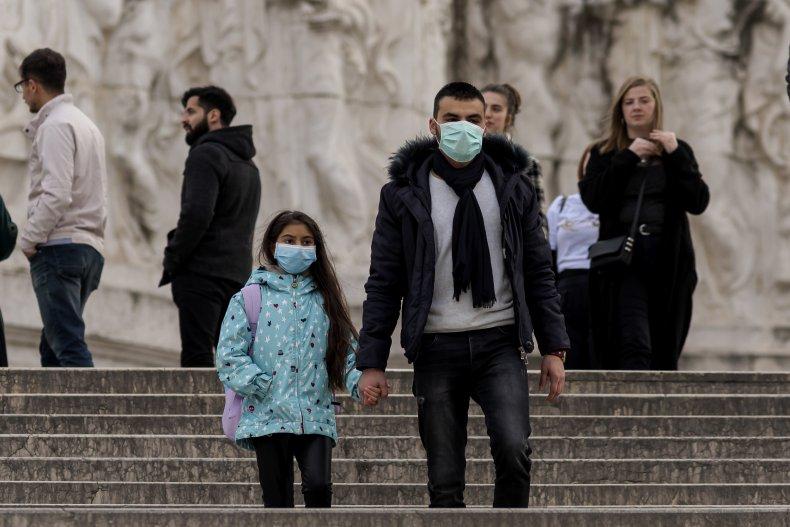 coronavirus response italy iran us south korea