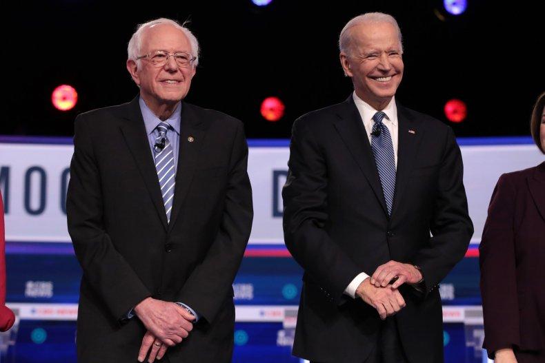 Bernie Sanders Joe Biden Missouri primary poll