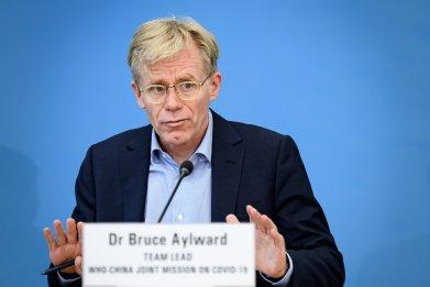 Bruce Aylward, World Health Organization