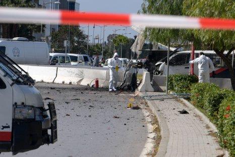 Tunisia, US embassy, attack, suicide, bomber, police