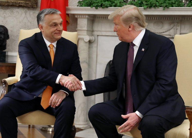Donald Trump, Viktor Orban, Hungary, White House