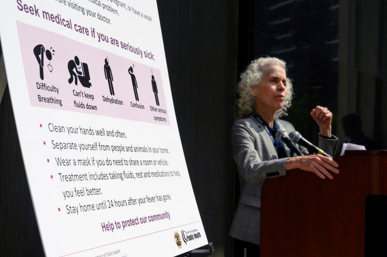 Los Angeles Coronavirus Press Conference