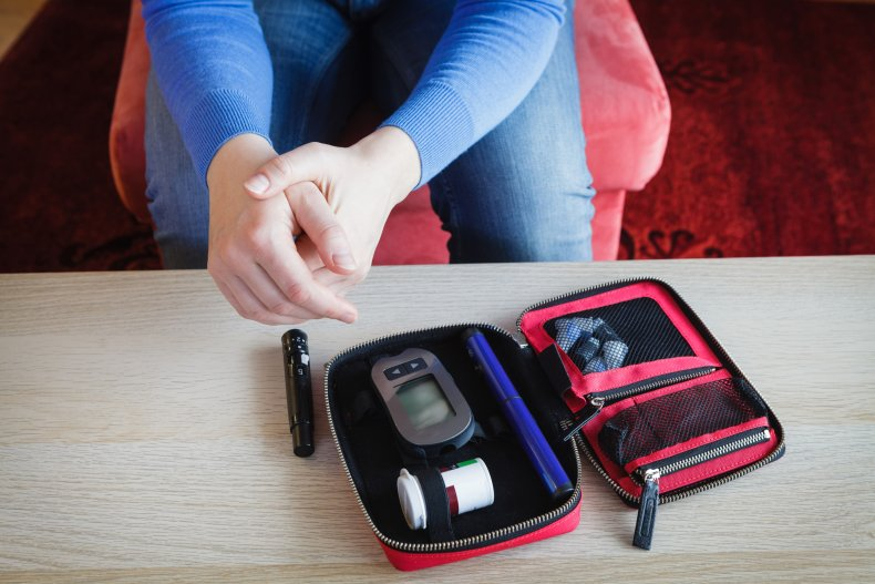 Diabetes supply kit