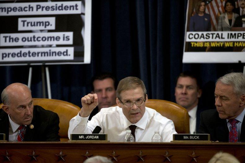 jim jordan republican congressman impeachment