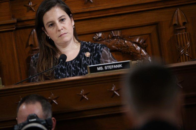 Representative  Elise Stefanik, capitol hill, getty