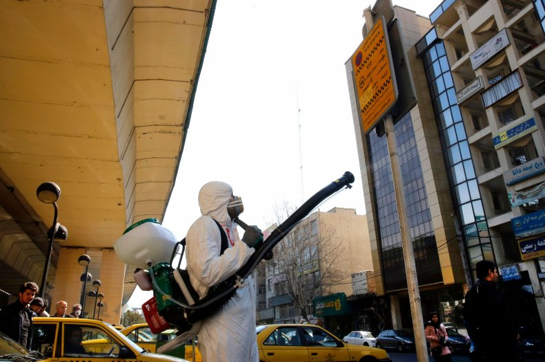 Tehran Iran coronavirus March 2020