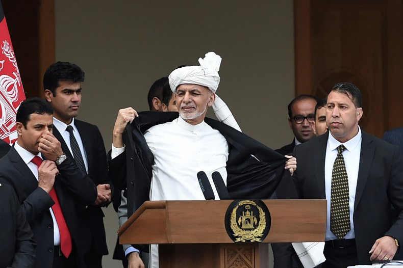afghanistan, president, ceremony, explosions, ghani