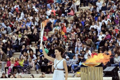 Ceremonies of the Olympic Flame