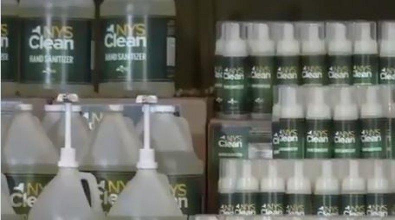 new york hand sanitizer cuomo