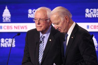 Sanders, Biden