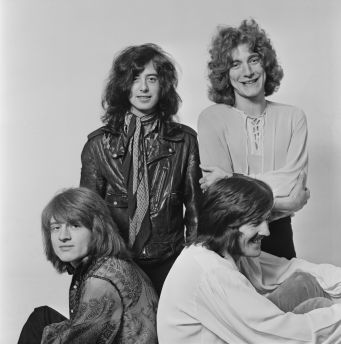 Led Zepplin Getty Images