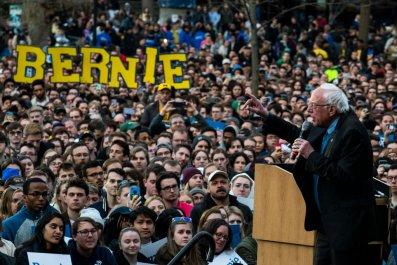 Bernie Sanders in Michigan