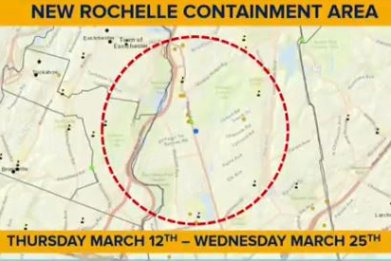 new rochelle containment area coronavirus schools