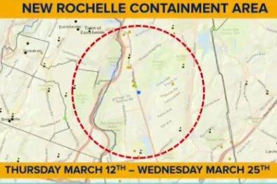 new rochelle containment area coronavirus schools