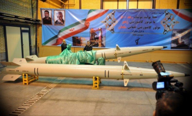 iran, raad-500, ballistic, missile, revolutionary, guard