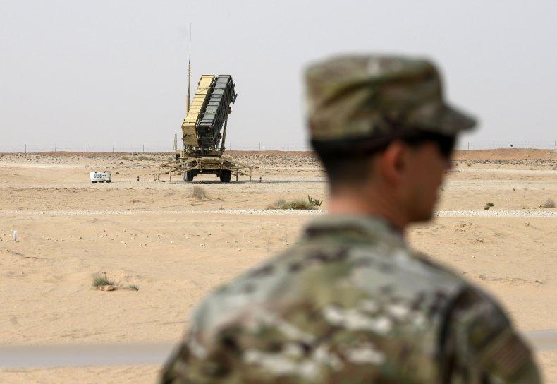us, military, patriot, missile, defense, saudi, arabia