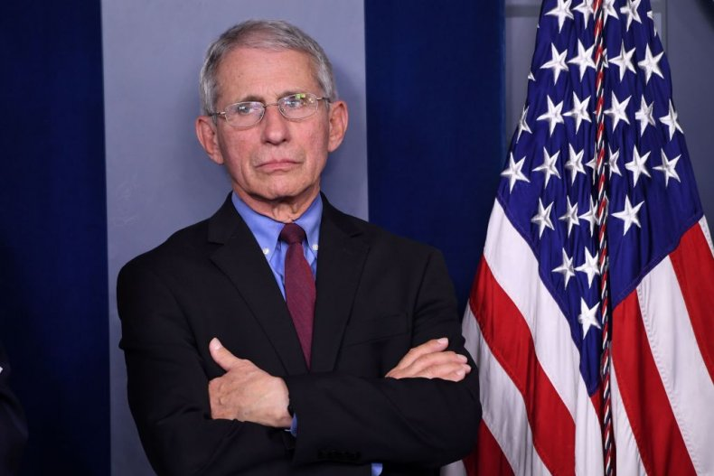 Dr. Anthony Fauci at COVID-19 Briefing