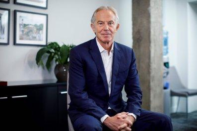 Tony Blair, Joe Biden, 2020, Donald Trump