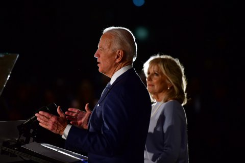 Joe Biden, Donald Trump, 2020 election, Blair