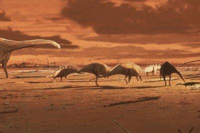Dinosaurs, Isle of Skye