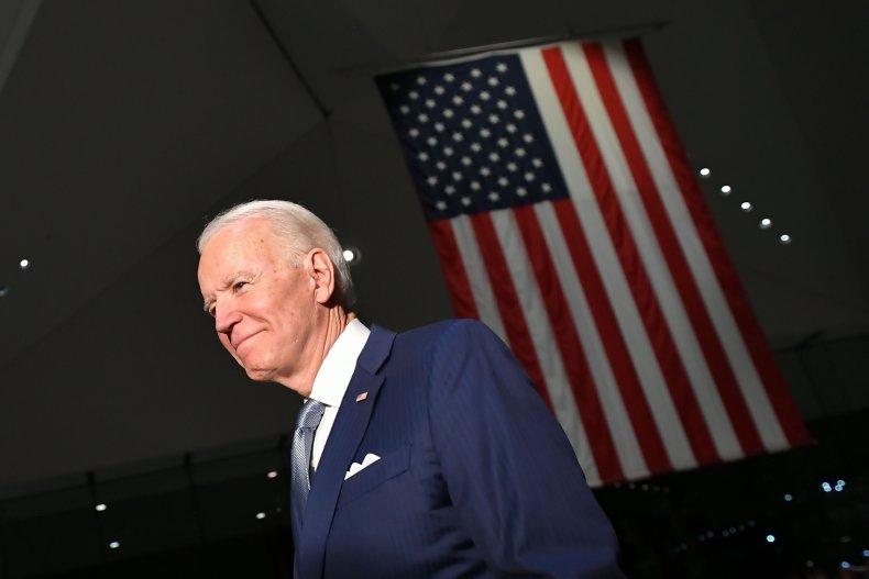 Joe Biden March 10 primary Bernie Sanders