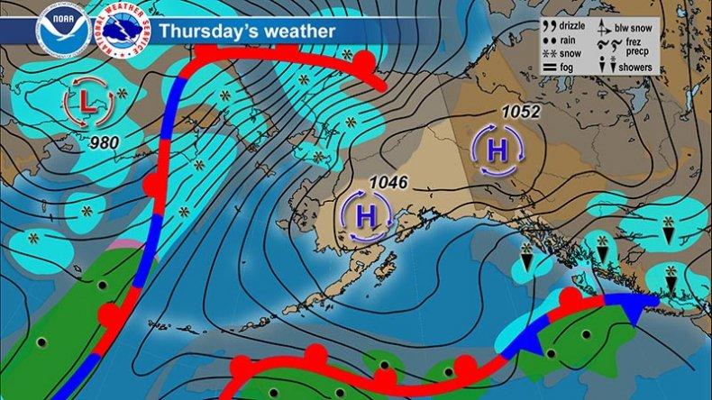 NOAA NWS AK Thursday Forecast 031220