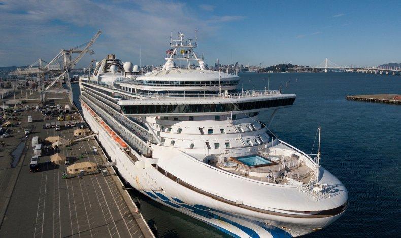 Grand Princess coronavirus ship California