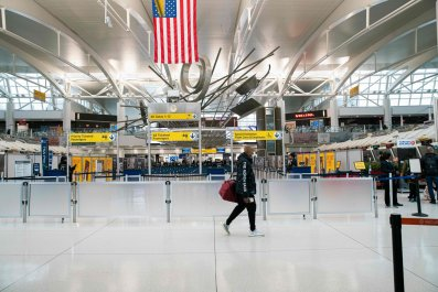 JFK airport New York City March 2020