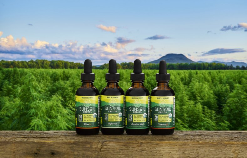 Sunsoil CBD Oil Products
