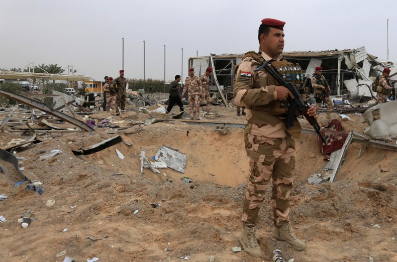 iraq, military, karbala, airport, us, airstrikes