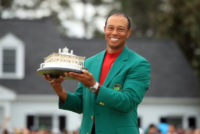 Tiger Woods, The Masters
