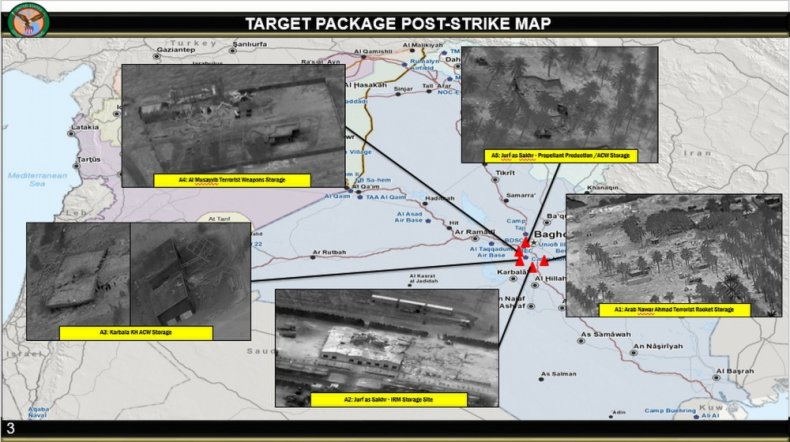 us, strikes, iraq, targets, after