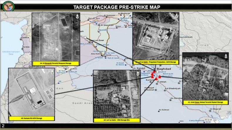 us, strikes, iraq, targets, before