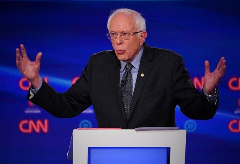 bernie sanders democratic debate washington dc