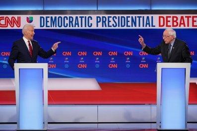 sanders biden spar social security democratic debate