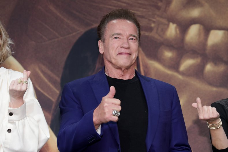 Arnold Schwarzenegger Thinks You Should Stay Home and So Do His Mini Donkeys