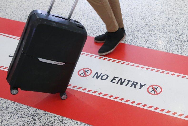 country ban coronavirus border travel