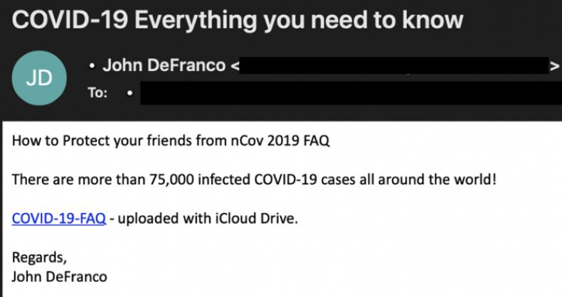 FireEye Criminal Phishing Example