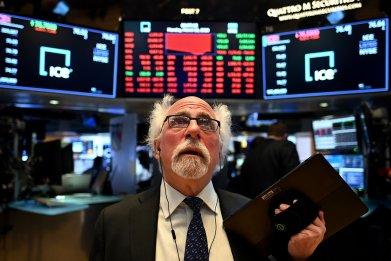 US stock markets coronavirus economy recession