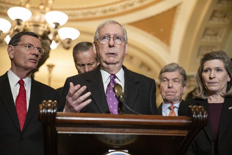 Coronavirus paid sick leave Senate Republicans