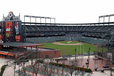 Oriole Park, MLB
