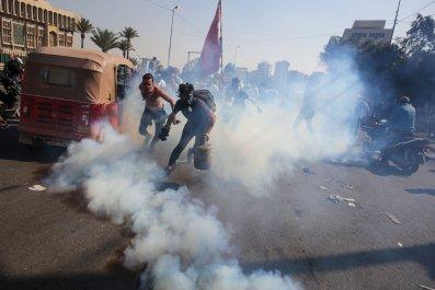 Iraq protests gas