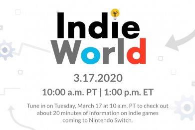 nintendo direct indie world showcase march 2020